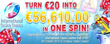 56K Winner Denis A 7S