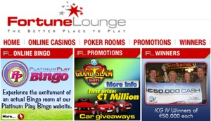 Fortune Lounge promos
