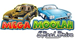 mega moolah 5 reel drive logo