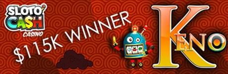 115k keno winner slotocash