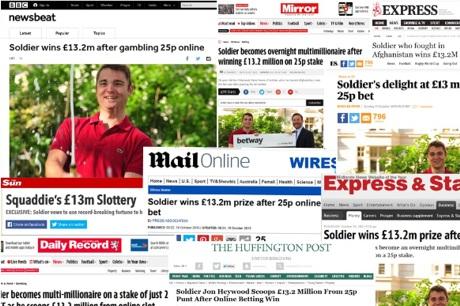 Jon Heywood in the News - BBC, Mirror, Sun...