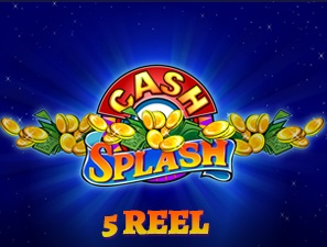 news/cash splash 5 reel logo