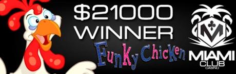 funky chicken 21k