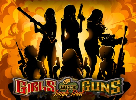girls with guns - jungle heat casino