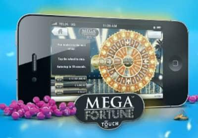 mega fortune iphone