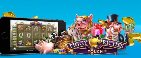 piggy riches touch win